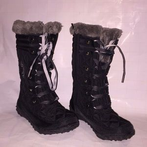 Girls toddler US polo snow boots size 12m